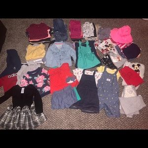 HUGE 18month babygirl clothing lot